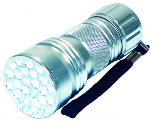 21xUV LED Taschenlampe ALU Leuchte Lampe Schwarzlicht