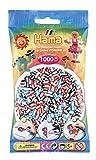 Hama 207-91 - Perlen im Beutel, 1000 Stück, gestreift, 3 farbkombinationen