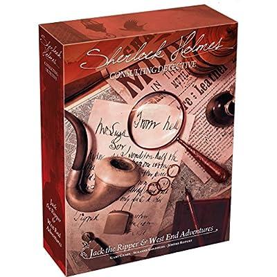 Asmodee - SCSHJW01FR - Sherlock Holmes Jack L'Éventreur - Aventures À West End