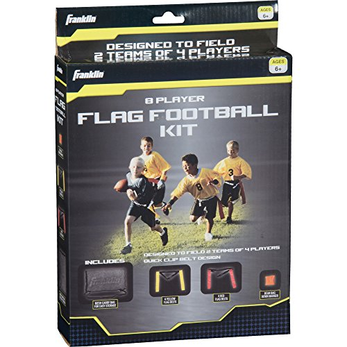 Franklin Sports Youth 8Player Flagge Fußball-Kit -