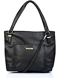 Caprese Andrea Women's Tote Bag (Black)
