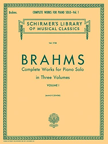 Complete Works for Piano Solo: 1