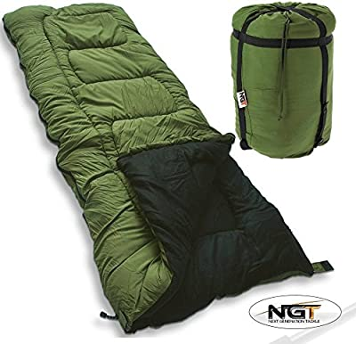5 Seasons Warm Sleeping Bag Carp Fishing High Tog Rating Bag Camping Hunting NGT by NGT