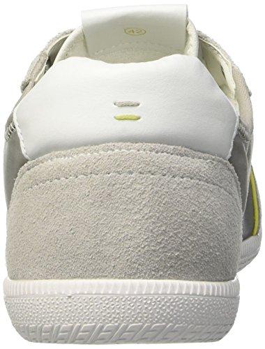 BATA 8491653, Pompes à plateforme plate homme Blanc Cassé (Bianco)