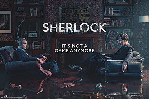 Poster Sherlock - Rising Tide (91,5cm x 61cm) + un poster surprise...