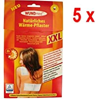 5 x Wundmed Wärme Pflaster XXL - 1 Stück (19 x 13 cm) preisvergleich bei billige-tabletten.eu
