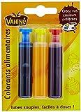 Vahine Colorant Alimentaire 3 Tubes de 6 ml