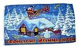 Bandiera/Bandiera Buon Natale Slitta 90x 150cm
