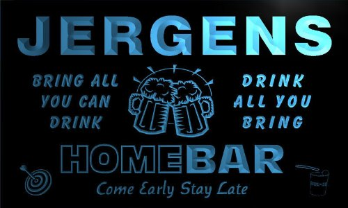 q22089-b-jergens-family-name-home-bar-beer-mug-cheers-neon-light-sign
