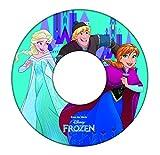 GIM Disney Princess Frozen Bouée Gonflable sous Licence, 871-57110, 51 cm