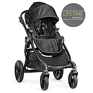 Baby Jogger City Select Single Stroller Black Silver Cross Ultra lightweight zest pushchair, weighing in at only 5.8kg, is suitable from birth up to 25kg It has a convenient one-hand fold, while the compact design makes it easy to store The fully lie-flat recline is best in its class 9