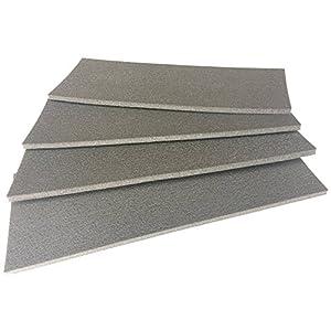 Colourcare24-Paragolpes-de-pared-para-garajes-y-cocheras-Juego-de-4-paneles-autoadhesivos-de-45-x-165-x-10-cm-de-espesor-Color-RAL-Producto-fabricado-en-polietileno-Proteccin-lateral-para-puertas-de-a
