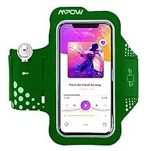 Mpow MSA7Y-UKVV2 iPhone X Armband, Mpow Sport Armband Sweat-Free High-Quality Phone Armband with Headphone and Key Slots