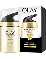 Olay Total Effects Anti-Ageing 7-in-1 Day Moisturiser With SPF15, 50 ml