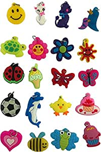 Loom Bands Charm Pack (Set of 20, Assortment)
