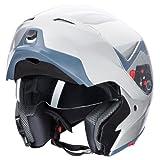 Ultrasport Motorrad-Integralhelm IH-1, Silber, Größe L - 3