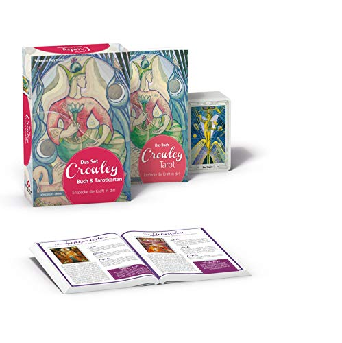 Das Set Crowley-Tarot: Set mit Buch und Karten -