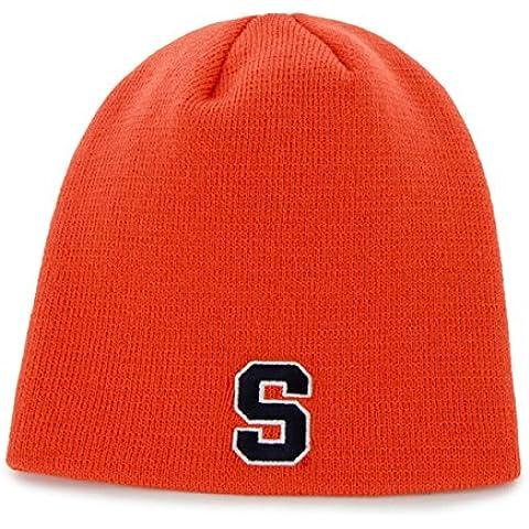 Syracuse Orangemen Orange Skull Cap - NCAA Cuffless Winter Knit Toque Beanie Hat by '47