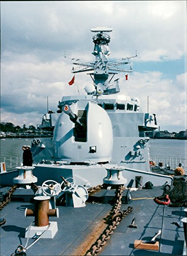 Fotomax Vintage Photo of HMS Montrose (F 236) Type 23 Brigate (Duke Class) of The Royal Navy -