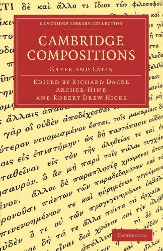 Cambridge Compositions Paperback (Cambridge Library Collection - Cambridge) por Archer-Hind