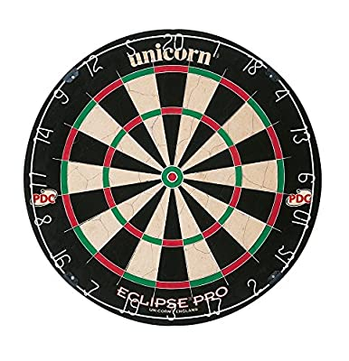 Eclipse Pro Dartboard - Black/White/Red/Green