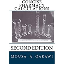 Concise Pharmacy Calculations (English Edition)