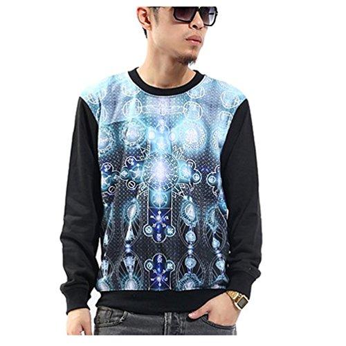 pizoff-hip-hop-sudadera-para-hombre-sweatshirt-blue-cross-print