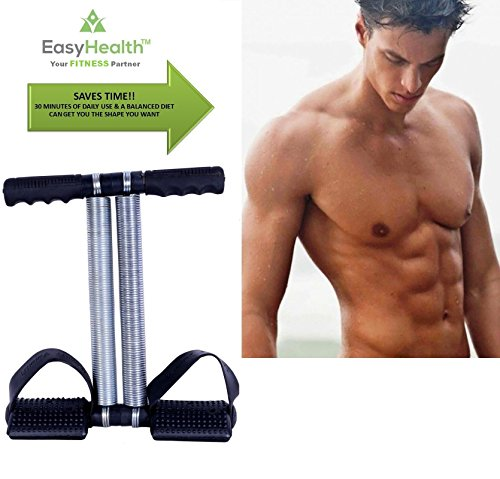 EasyHealth™ Double Spring Tummy Trimmer-Abs Exerciser-Waist Trimmer-Total Body Workout for Men and Women
