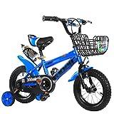 Kinderfahrräder Kinder-Bike 3 --- 6-jährige männliche Baby Baby Kinderwagen 12/16/18 Zoll Fahrrad Mountainbike Kinder Fahrrad Babywagen ( Farbe : B , größe : 14 Inch )
