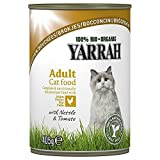 Yarrah - Cat Food Chicken Nettle & Tomato in Sauce Bio 12x405g