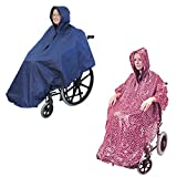 Aidapt Waterproof Wheelchair Poncho (Choose Colour)