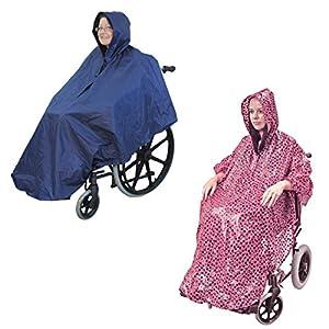 Aidapt Waterproof Wheelchair Poncho (Choose Colour)