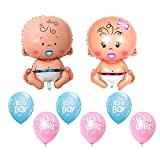 #7: Theme My Party Baby Shower Party Decoration Combo 6 (Multi)