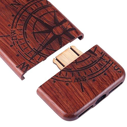 Hülle für iPhone 7 plus , Schutzhülle Für iPhone 7 Plus Trennbare Schnitzen Octopus Pattern Kirsche Holz Schutzmaßnahmen zurück Fall Deckung ,hülle für iPhone 7 plus , case for iphone 7 plus ( SKU : I Ip7p1449j