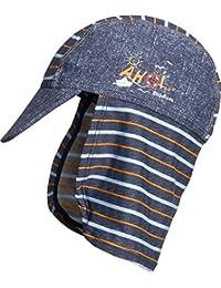 Playshoes Boy's UV Sun Protection Swim Cap, Sunhat Ahoi