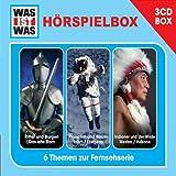 WAS IST WAS 3-CD Hörspielbox Vol.2