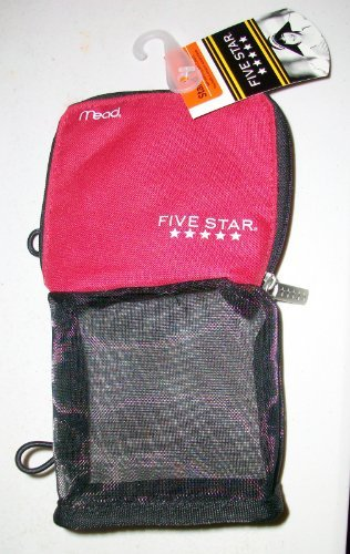 mead-five-star-stand-and-store-self-standing-pencil-pouch-colors-may-vary-by-dallas-pen-company