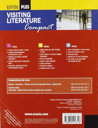 Visiting literature. With themes and exam preparation. Ediz. compatta. Per le Scuole superiori. Con DVD-ROM. Con espansione online