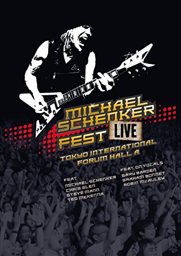 Michael Schenker - Fest-Live Tokyo International Forum Hall A (DVD Video)