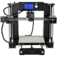 Impresora 3D, kit de impresora 3D ANET A6 con pantalla LCD (admite tarjetas TF, kit de impresora DIY 3D)