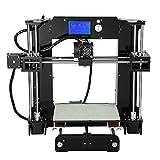 Impresora 3D, kit de impresora 3D ANET A6 con pantalla LCD (admite tarjetas TF, kit...