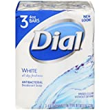 Dial Antibacterial Soap, White, 3 ct, 12...