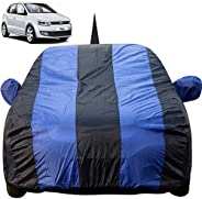 Autofact Car Body Cover for Volkswagen Polo with Mirror and Antenna Pocket (Light Weight, Triple Stitched, Hea