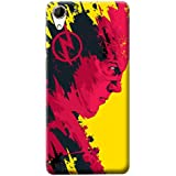 Mott2 Back Case For Huawei Honor 3 | Huawei Honor 3Back Cover | Huawei Honor 3 Back Case - Printed Designer Hard Plastic Case - Flash Theme - B075JJY8HZ