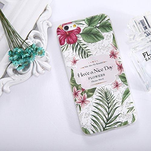 Phone Case & Hülle Für iPhone 6 & 6s Sunflower Muster TPU Fallschutz-Schutz-rückseitige Abdeckungs-Fall ( SKU : Ip6g1653f ) Ip6g1653a