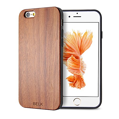 6-panel-massivholz (iPhone 6 Plus Fall: [SG] Rahmen BELK zweiten Gene -
