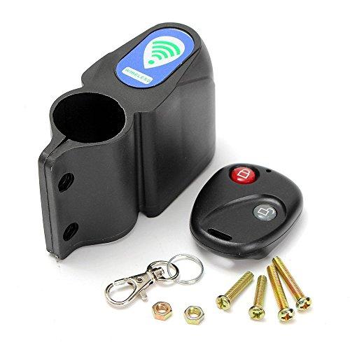 efanr Mini Bike Alarm Kabellose Fernbedienung Diebstahlschutz Fahrrad Sicherheit Sound Sirene Schlösser Schock Vibration Sensor Guard Einbrecher -
