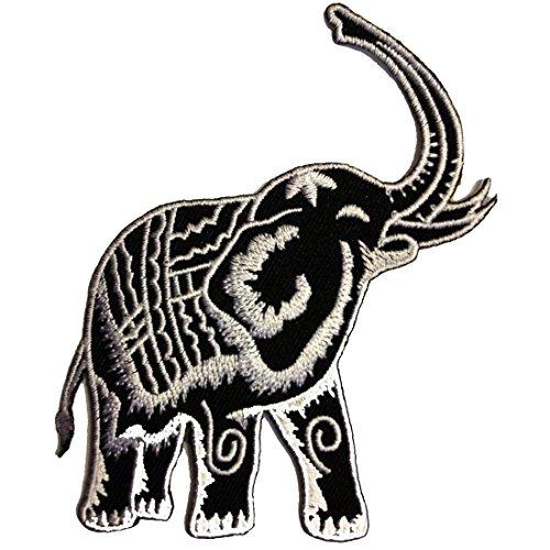 Gris Elefante Animal Zoo Tailandia Patch '9.8 x 9.8