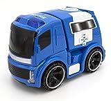 Toys Outlet Police Power 5406367577. Coche de Policía con Luces y Sonido.