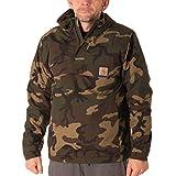 Herren Jacke Carhartt WIP Nimbus Pullover Jacke M camo combat green